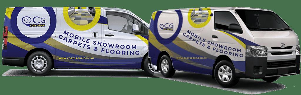 cosy group mobile showroom